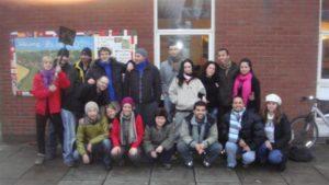 イギリスの国際協力団体にいた時の写真
