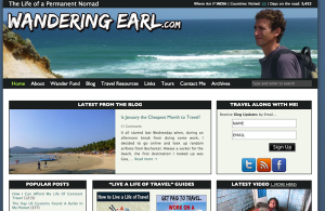 Wandering Earl.com