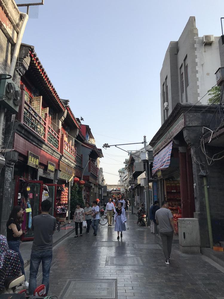 北京の全門大街